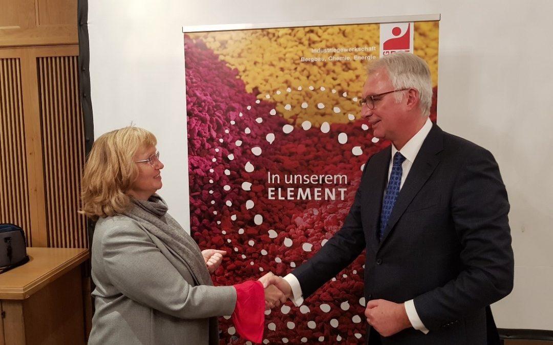 Tarifabschluss für die Kunststoff verarbeitende Industrie in Bayern am 29.11.2018 erzielt